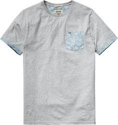Modisches T-Shirt von Hilfiger Denim mit hervorgehobener Brusttasche. Angenehmer Tragekomfort, hochwertige Qualität. 100% Baumwolle...