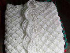 free crochet patterns for christening blankets Crochet Baby Shawl, Crochet Baby Blanket Free Pattern, Crochet Baby Sandals, Crochet Baby Clothes, Crochet Jacket, Afghan Crochet Patterns, Baby Knitting Patterns, Crochet Stitches, Free Crochet