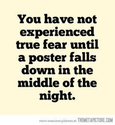 True Fear…