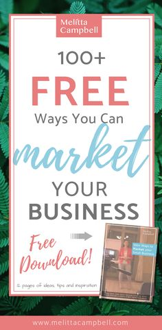 100 Free Ways You Can Market Your Business (Free Tool) babies flight hotel restaurant destinations ideas tips Business Marketing, Content Marketing, Affiliate Marketing, Online Marketing, Social Media Marketing, Digital Marketing, Marketing Strategies, Marketing Ideas, Business Advice