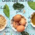 Green Eggs, No Ham {Veggies for Breakfast}