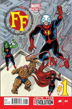 Fraction, Bagley And Allred Confirmed On Fantastic Four And FF – And Introducing Miss Thing!