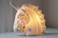 ceramic unicorn lamp