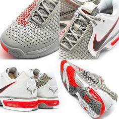 nike-air-max-courtballistec-3.3-medium-grey-black-crimson-red-white-rafael-nadal-shoes-3