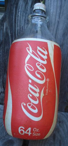 1980s Coke styrofoam labels.. You knew your drink was complete when you got all the styrofoam off… lol