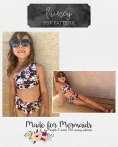 YRD TECH Children Kids Girls Sleeveless Suspender Bikini Beach One Piece Swimsuit