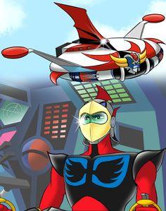 Duke Fleed by Yuji Mime Big Robots, Cool Robots, Gundam, Ulysse 31, Robot Cartoon, Muslim Culture, Japanese Superheroes, Arte Robot, Godzilla
