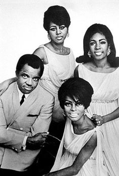 Diana Ross & The Supremes with Berry Gordy Jr.