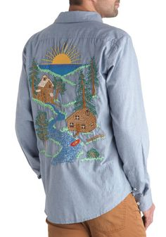 Panfilo's Commune with Nature Shirt, #ModCloth