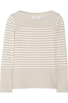 MiH Jeans|The Breton Saddle striped cotton top|NET-A-PORTER.COM