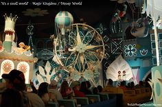 """""""it's a small world"""" ride in the Fantasyland area of the Magic Kingdom at Disney World."""