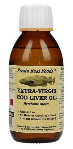 Bottle 150ml - Rosita Realfoods™ - Artisan Extra-Virgin Cod Liver Oil - Rosita Ratfishoil®