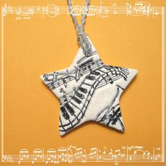 stamped polymer clay