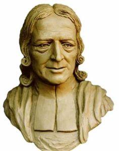 Bronze Portrait Sculptures / Commission or Bespoke or Customised sculpture by artist Mary Quinn titled: 'John Wesley (bronze Portrait Bust Compassion sculptures)'