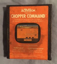 Chopper Command For The #atari 2600.. Great Game! from $3.0