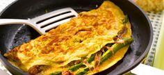Delhaize - Omelet met asperges op z'n Italiaans