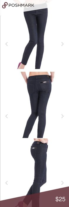 GUESS Moto Glam Skinny Jeans In perfect condition. Worn twice. Has a good amount of stretch. Figure flattering.  • Medium rise • Slim fit • Skinny leg • Mock welt pockets at front. Patch pockets at back.  • Belt loops • Sequined detail at back right pocket Guess Jeans