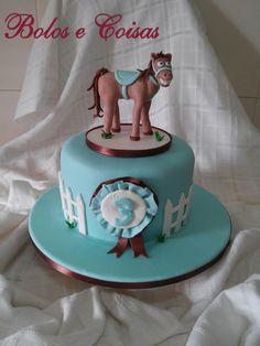 Bolos e coisas - Bolos decorados (Cake Design): Cavalo (horse)