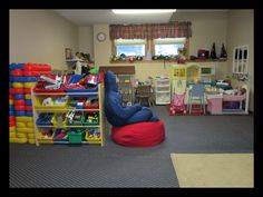 A view of my play therapy room...best place on earth to work and heal children/families.