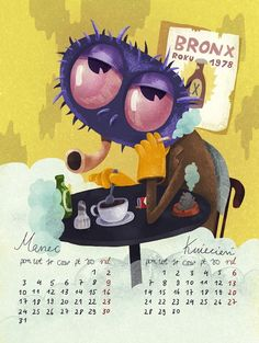 Awesome Showcase of Creative 2014 Calendar Designs