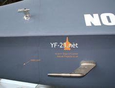 Northrop YF-23 ATF walkaround.