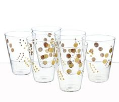 Roost Goldenberry Juice Glasses