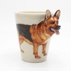 Incroyable German Shepherd Dog Ceramic Mug Home Decor Crafts Gifts 0001
