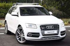 Used 2014 (64 reg) White Audi Q5 SQ5 Quattro 5dr Tip Auto for sale on RAC Cars