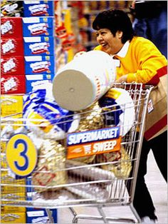Supermarket Sweep - best 30 minutes of afternoon TV during summer vacation