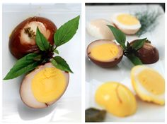 Nakladané kačacie vajcia | Jeden paradajka, dve paradajka
