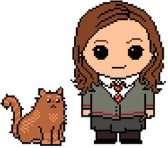 (10) Name: 'Embroidery : Harry Potter: Hermione Granger