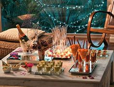 beautiful backyard table for an intimate gathering