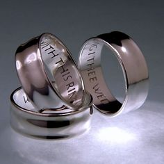 English: With This Ring I Thee Wed