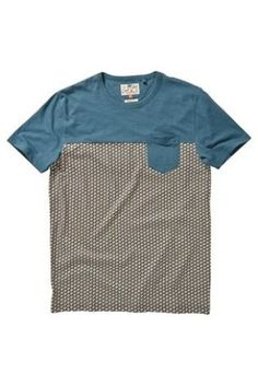 Buy Teal Patterned T-Shirt from the Next UK online shop
