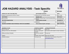 hazard log templates 9 free printable word excel pdf