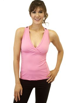 Yogi Activewear Surplus Tank    THE REASON FOR WHY THIS WAS MADE.    When you need a little more support this a great top for an intense yoga or workout and  can wear it around town for all active women. It is has a nice cutout back to give you some style and air.  www.yogiclothing.com  $36.00