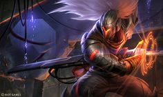Early PROJECT: Yasuo Splash by Yideth on DeviantArt