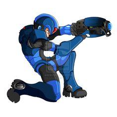 Mega Man X by tetso.deviantart.com on @deviantART