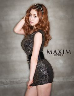 Nine Muses' Sera poses for the March issue of 'MAXIM' #allkpop #kpop