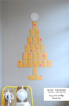 super-easy advent calendar