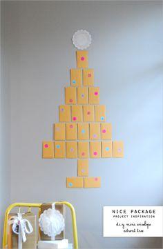 super-easy advent calendar