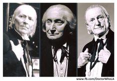 """1st Doctor ha sido interpretado por 3 diferentes actores?   #WilliamHartnell (el original), #RichardHurndall (en la historia """"The five Doctors"""") y #DavidBradley (como William Hartnell y el 1st Doctor en """"An Adventure in Space and Time"""" episodio especial del 50th Anniversary que nos contó como es que se concibió la serie, y Bradley re interpretaría ahora al 1st Doctor en """"Twice Upon a Time"""" especial navideño de este año)"""