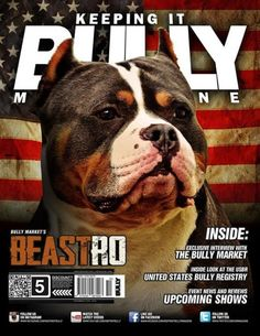 Beastro has been honored to grace the cover of Keeping It Bully Magazine issue #5 which drops later this month.