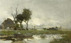 Autumn Landscape - Johan Hendrik Weissenbruch