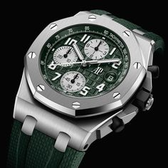*Blog Update - Read iN!* #AudemarsPiguet 42mm Royal Oak Offshore⌚️🌊 with the New Caliber 4404 * Available iN Steel, Titanium & Pink Gold....🎉