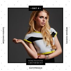 Day 4: A crop top stylish enough to dive right into. Don't let this Meghan Hughes top slip away