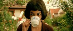 Audrey Tautou in Amelie (Jean-Pierre Jeunet, Audrey Tautou, Too Skinny, Broad City, Movies Showing, Movies And Tv Shows, New Girl, Series Quotes, Film Quotes, Percy Jackson