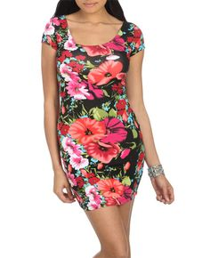possibility im going to buy this dress for my sister, kate's graduation! floral prints are my fav and it has a crochet x-back to it! :)