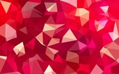 Preview wallpaper lines, faces, magenta, geometry, bending