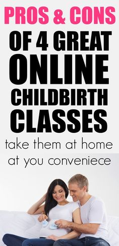 These online childbirth classes take what used to be a terrible inconvenience and make it into an enjoyable experience that you can do in your own home. Check out the pros and cons of these 5 classes. First Time Parents, New Parents, New Moms, Nursing Tips, Before Baby, Baby Massage, Baby Hacks, Baby Tips, Friends Mom